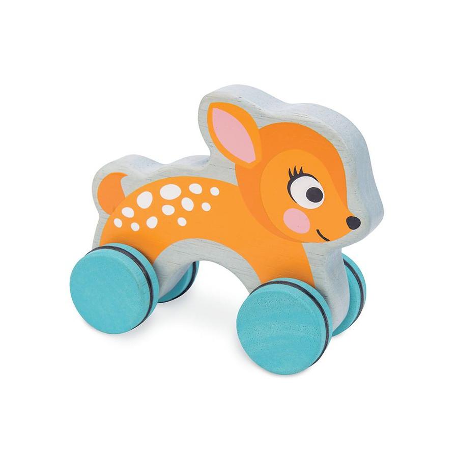 Bambi à pousser en bois Le toy van