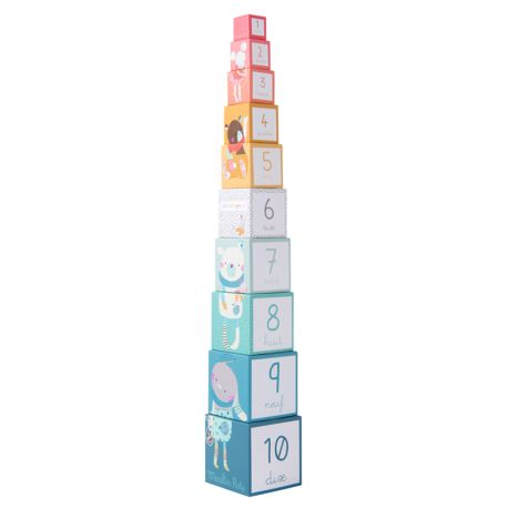 Cubes empilables Les petits Moulin Roty