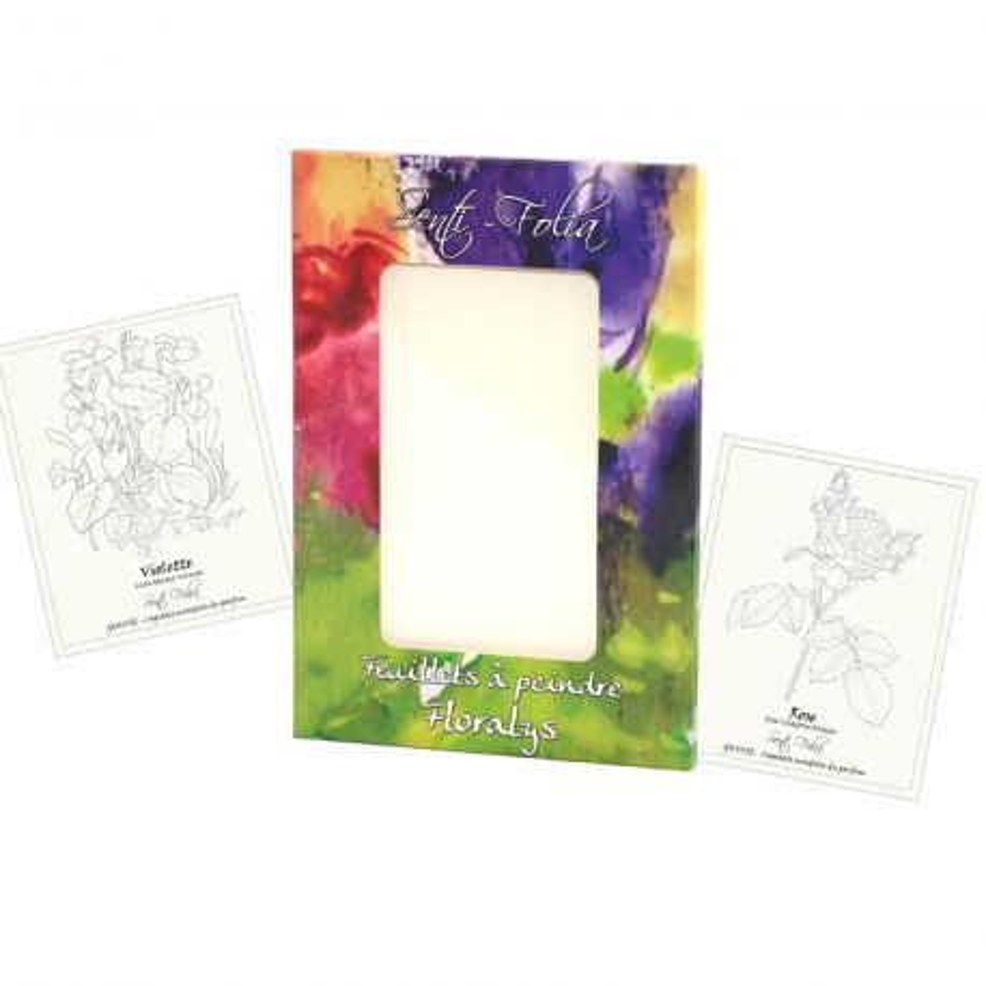 Petite pochette Aquarelle Floralys