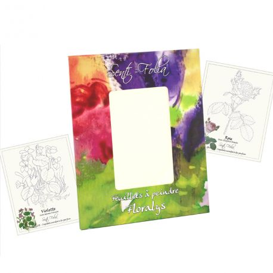 Grande pochette Aquarelle Floralys