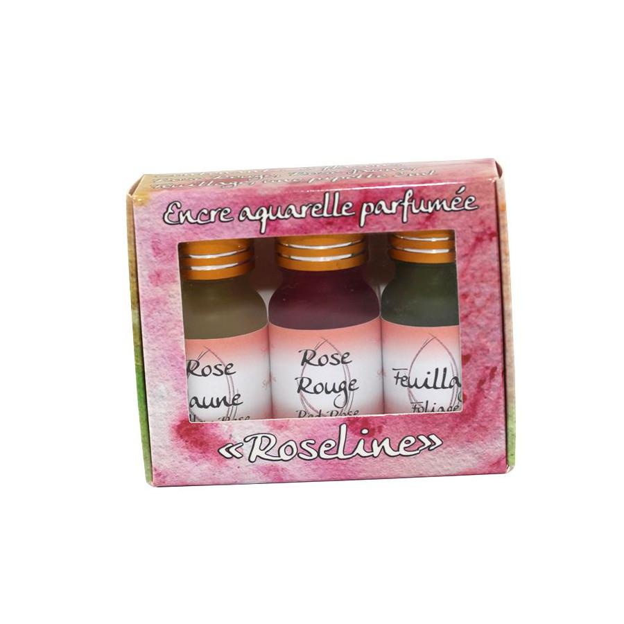 Encre parfumée  Roseline