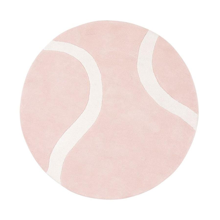 Tapis Tennis ball rose