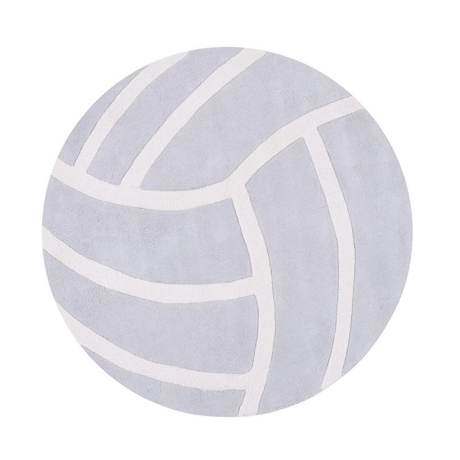 Tapis Tennis ball gris