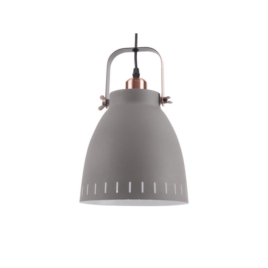 Lampe suspension Mingle mat gris