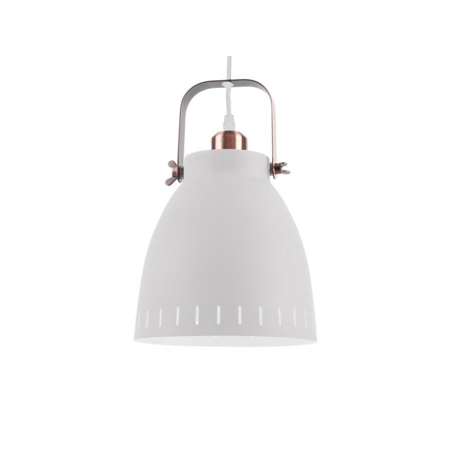Lampe suspension Mingle mat blanc