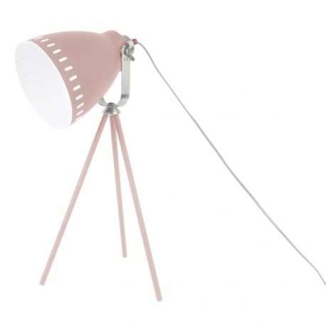 Lampe de table Mingle 3 pieds mat rose