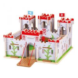 Grand Chateau fort en bois du Roi Georges Bigjigs