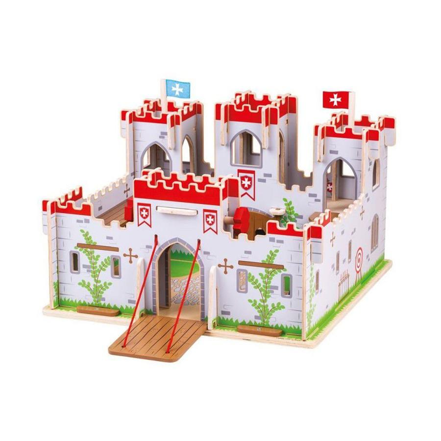 Grand Chateau fort en bois du Roi Georges Bigjigs