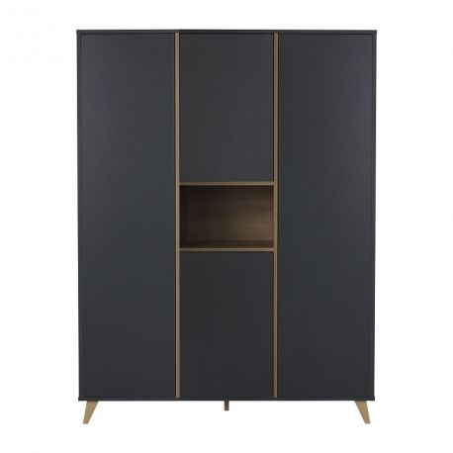 Armoire Loft Anthracite - 4 portes