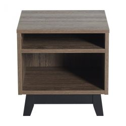 Table de nuit Trendy Royal Oak grise