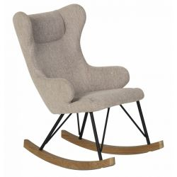 Fauteuil enfant Rocking Chair Gris sable