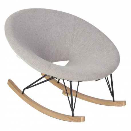 Fauteuil adulte Rocking O Chair Gris sable