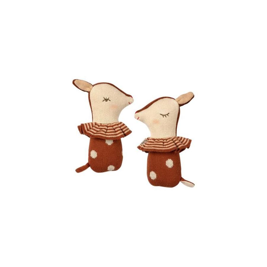 Hochet Bambi Rouille