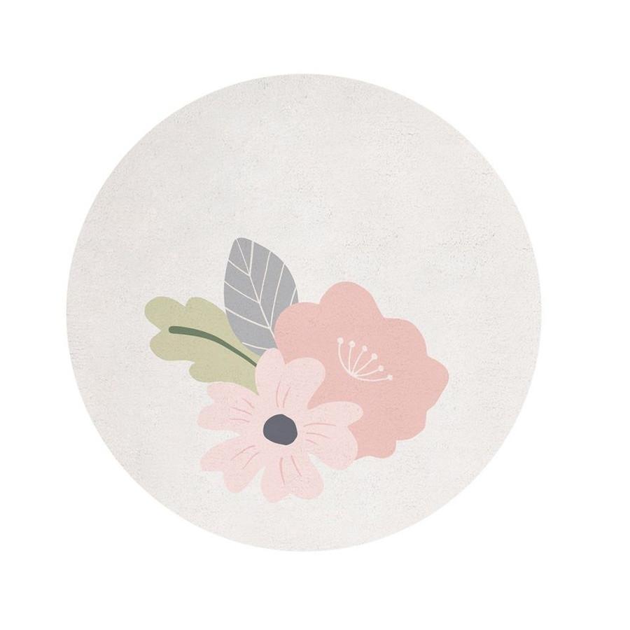 Tapis Bloom pastel