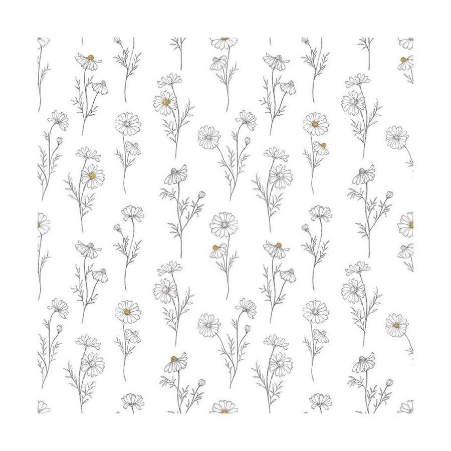 Papier Fleur de camomille