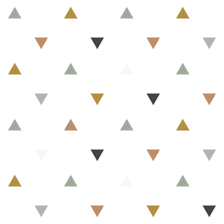Papier peint Motifs triangles