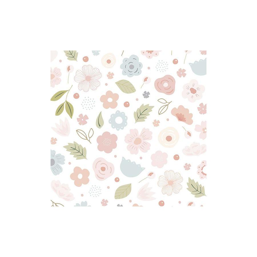 Papier peint Bloom pastel