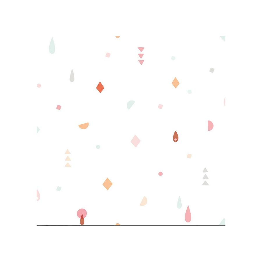 Papier peint Géométrique pastel