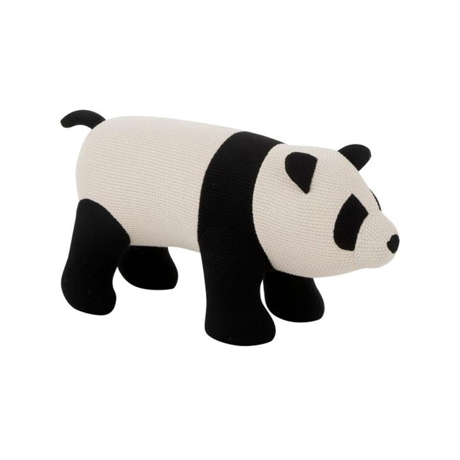 Panda Géant coton noir et écru