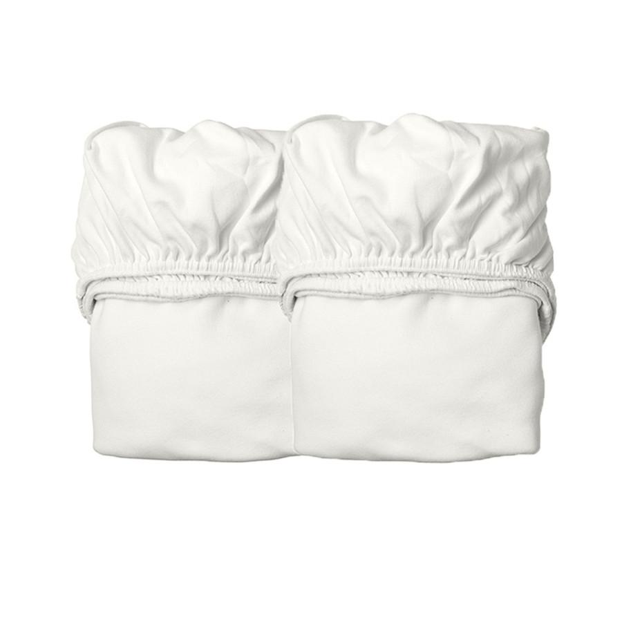 Lot de 2 Drap housse Linea blanc