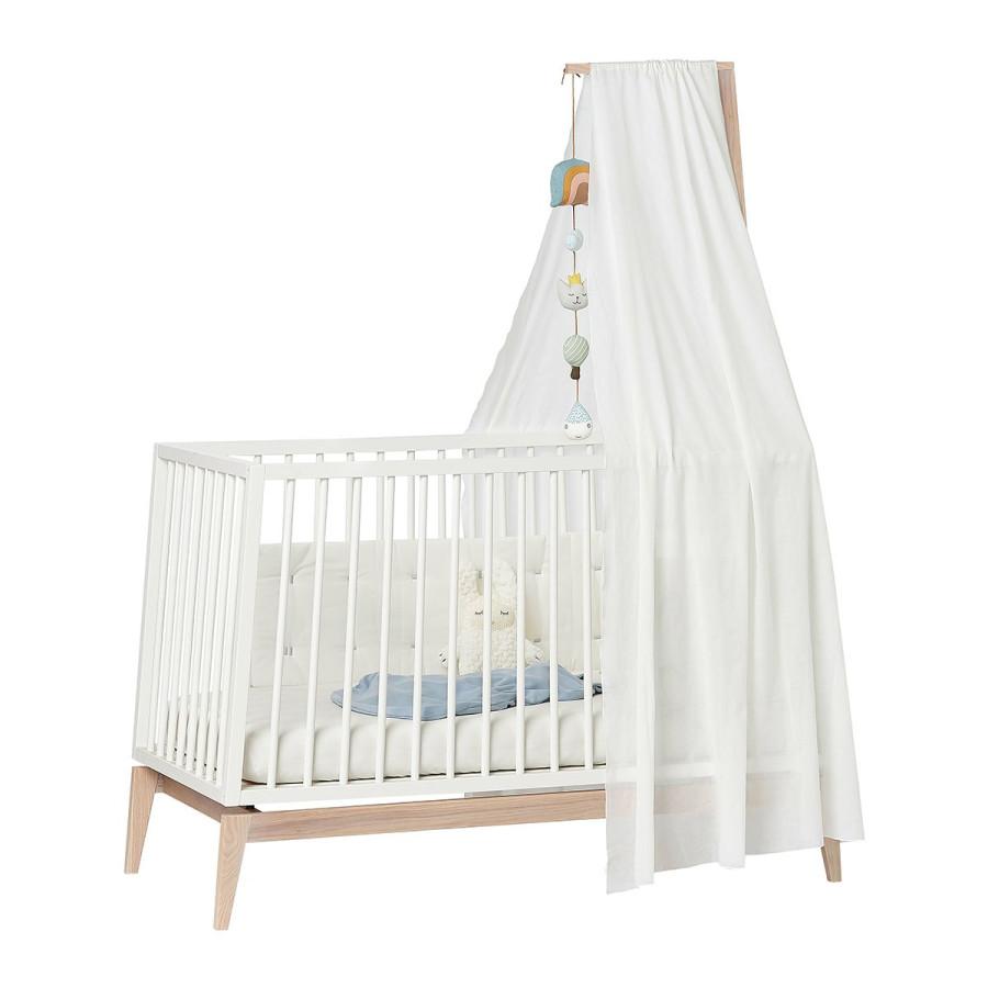 Ciel de lit bébé Linea blanc