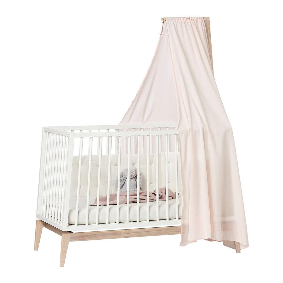 Ciel de lit bébé Linea rose
