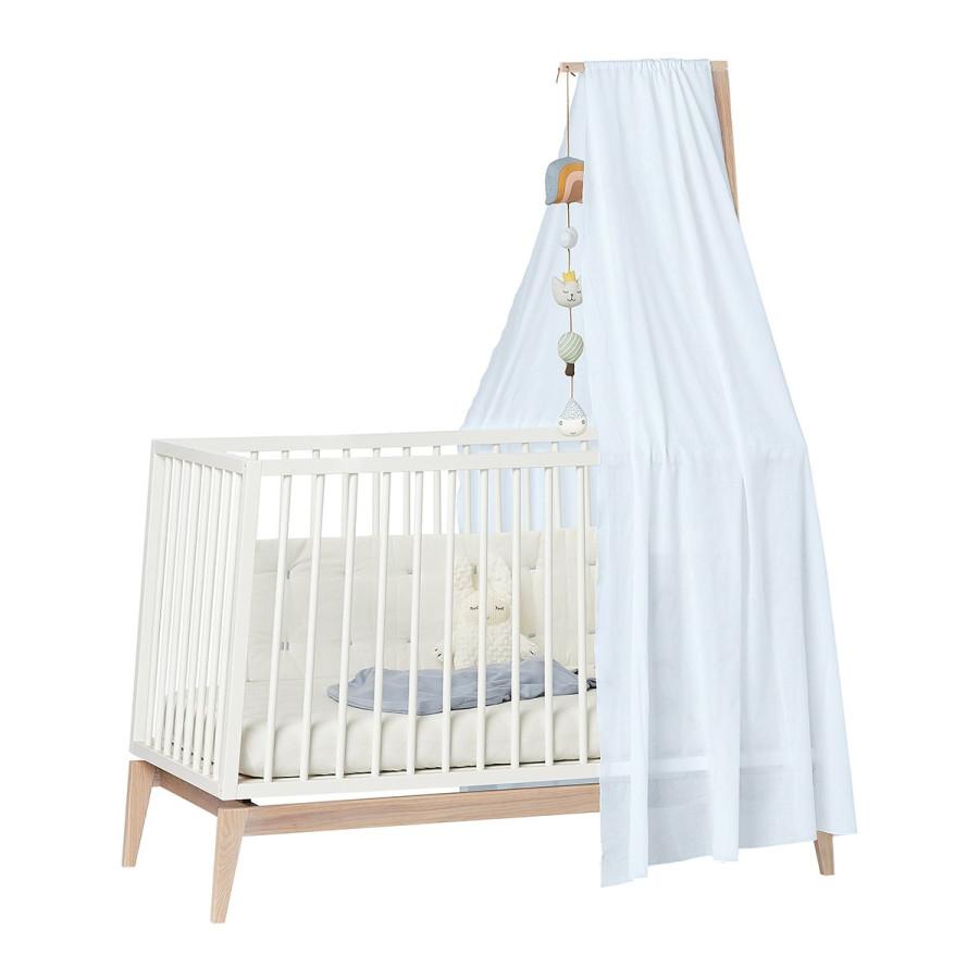 Ciel de lit bébé Linea bleu