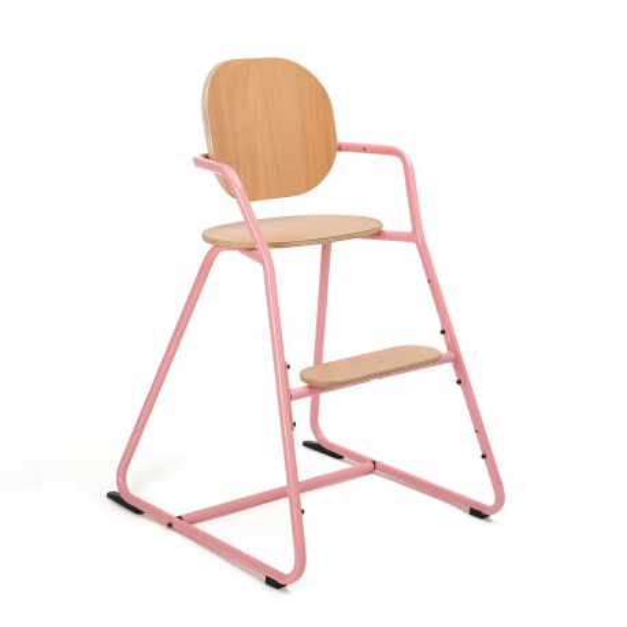 Chaise haute évolutive Tibu rouge