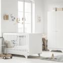 Lit bébé évolutif blanc Playwood