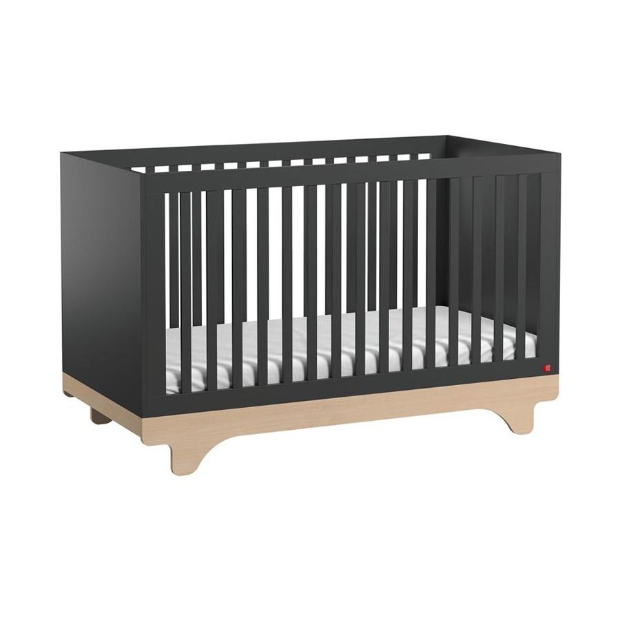 Lit bébé évolutif gris Playwood