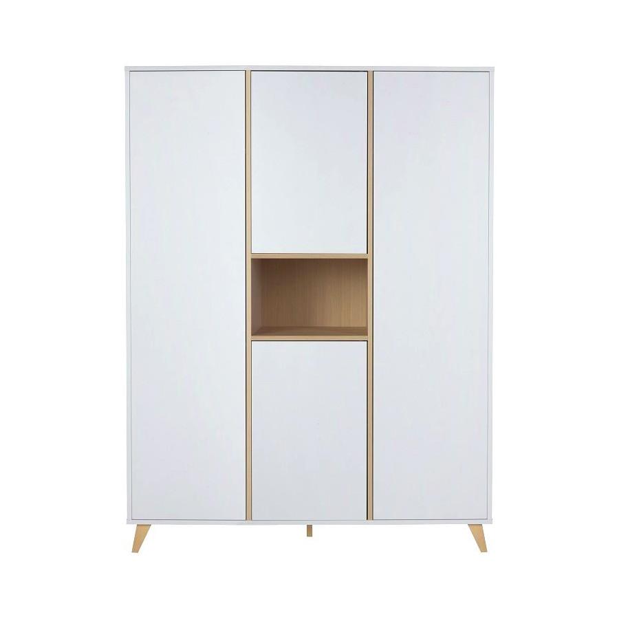 Armoire Loft Blanche - 4 portes