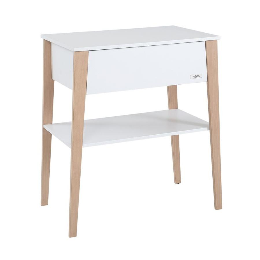 Table à langer Nature bois