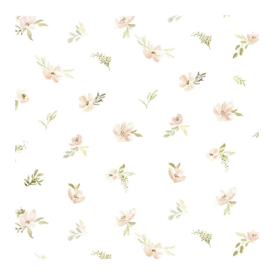 Papier peint Fleur Aquarelle