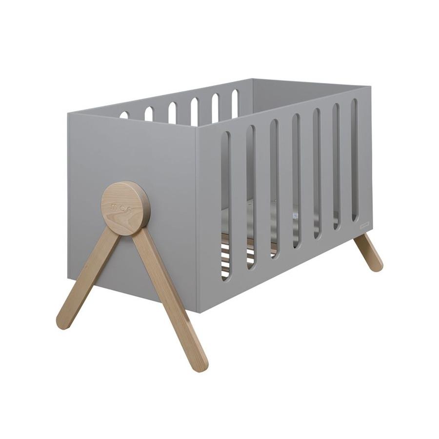 Lit bébé 120 Swing gris