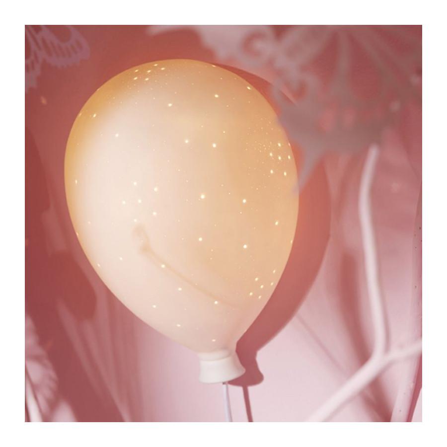 Lampe murale Ballon blanc