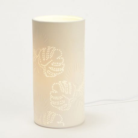 Lampe Feuillage blanche