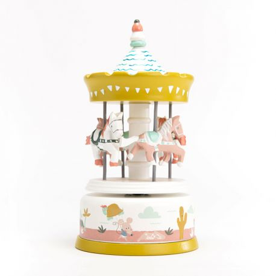 Carrousel Jade pastel