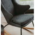 Fauteuil enfant Rocking Chair Noir
