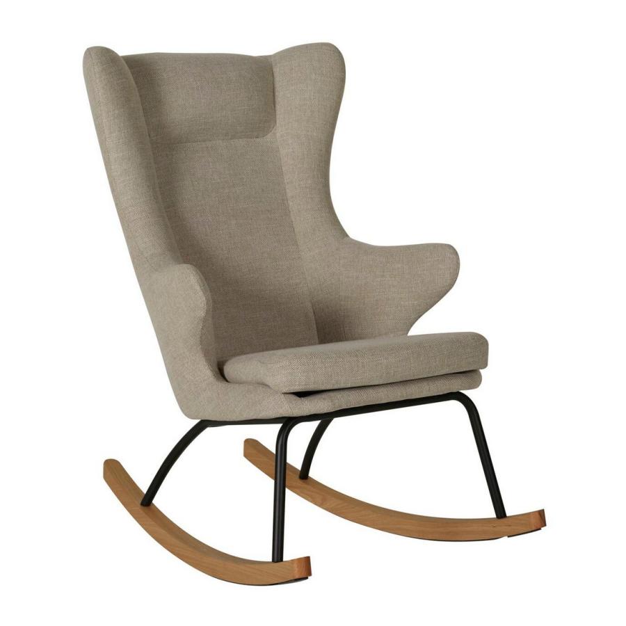 Fauteuil adulte Rocking Chair argile