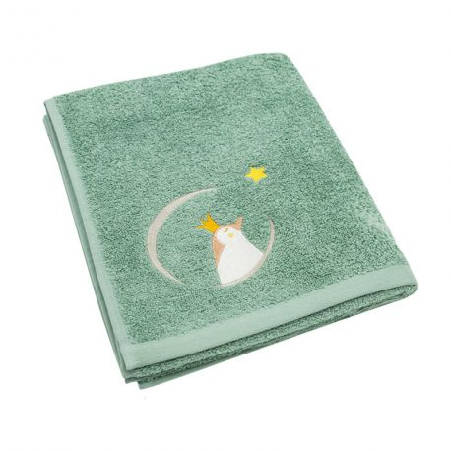 Serviette de bain Lapin à broder