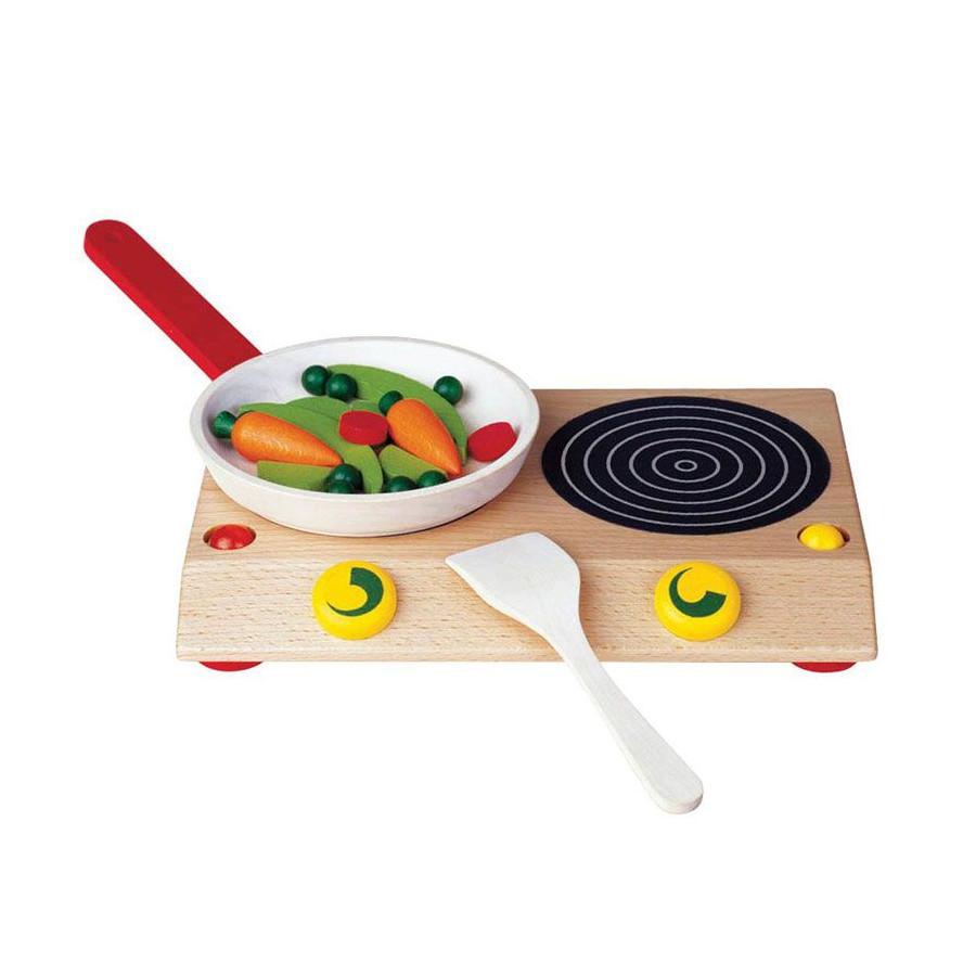 Table de cuisson bois