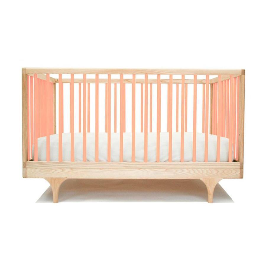 Lit bébé Caravan rose