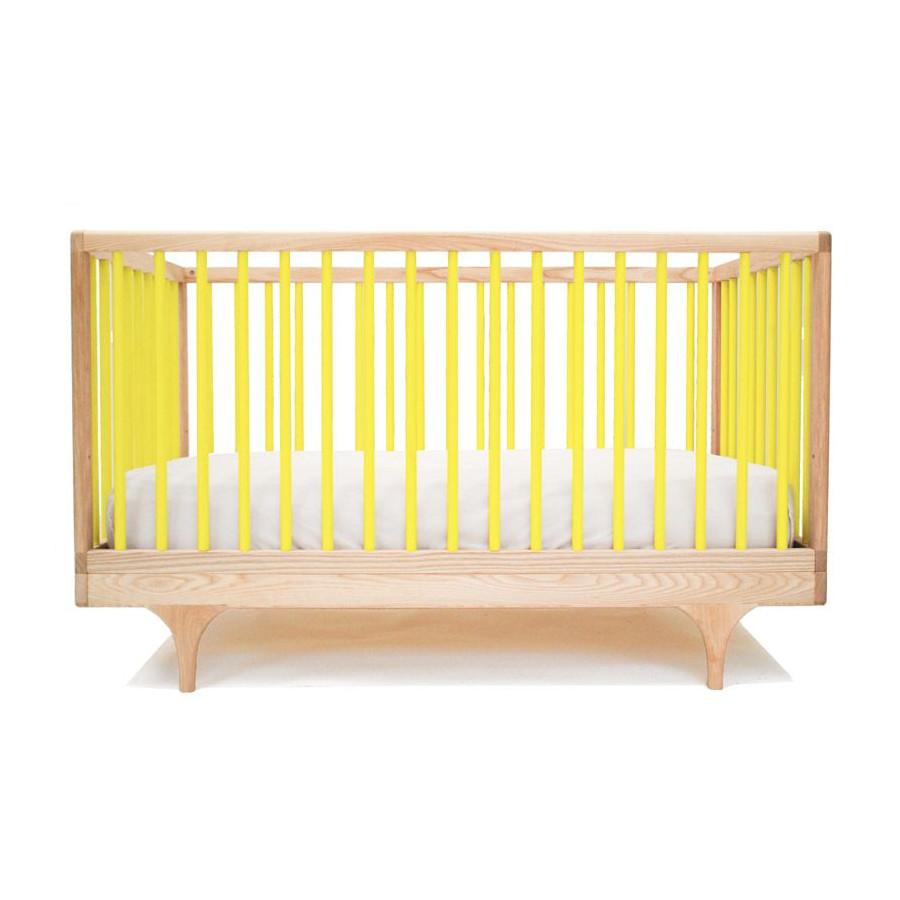 Lit bébé Caravan jaune