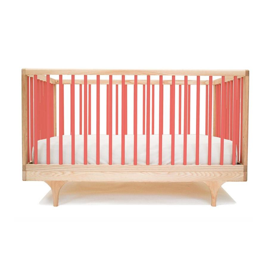 Lit bébé Design rouge Kalon Caravan | Range-Ta-Chambre.com