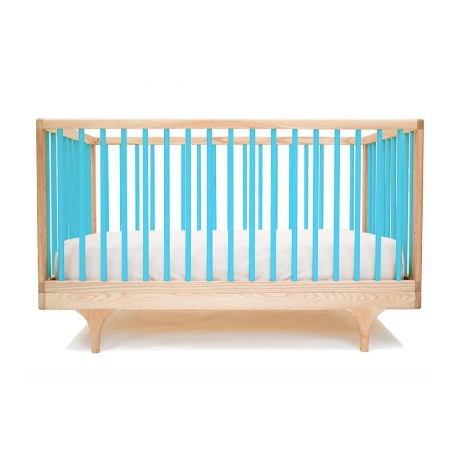 Lit bébé Caravan turquoise