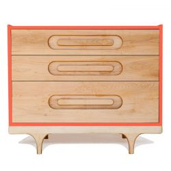 Commode Caravan rouge