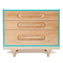Commode Caravan turquoise