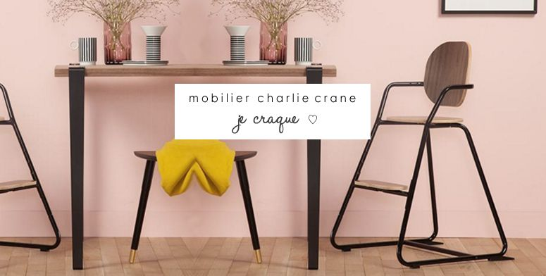 New ! Mobilier  Charlie crane.