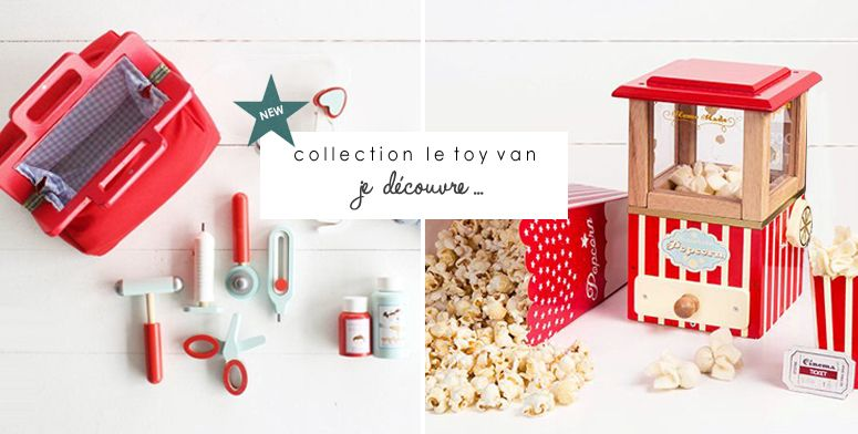 New ! Collection Le Toy van.