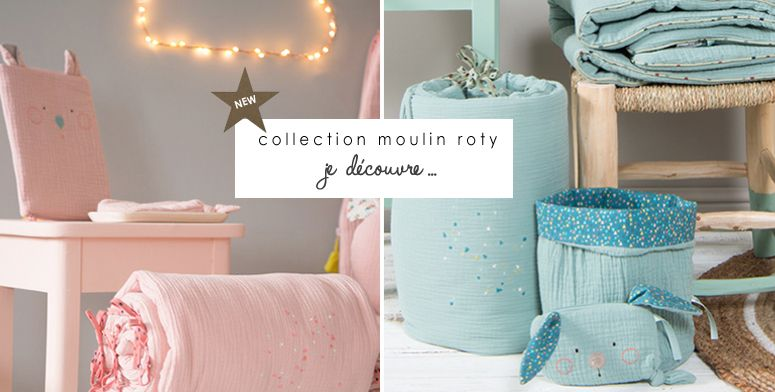 New ! Collection moulin roty.